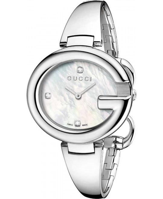 Gucci Guccissima YA134303 Women's Swiss Diamond Watch 36mm