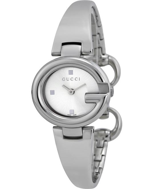 GUCCI GUCCISSIMA YA134502 Silver Steel Ladies Watch 27mm