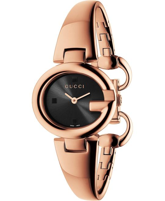 Gucci Guccissima PVD Rose Gold Watch 27mm
