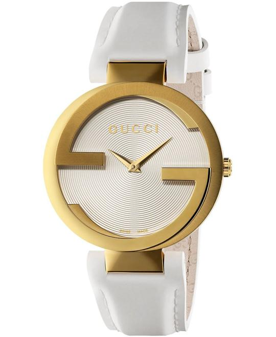 Gucci Interlocking G White Unisex Watch 37mm