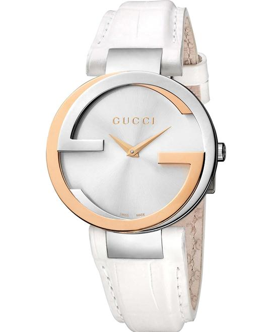 Gucci Interlocking  Women's Stainless Watch 37mm