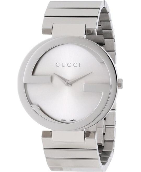 GUCCI Interlocking  Silver Dial Ladies Watch 37mm