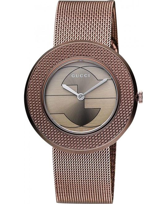 Gucci  U - Play Collection Swiss Brown Watch 35mm