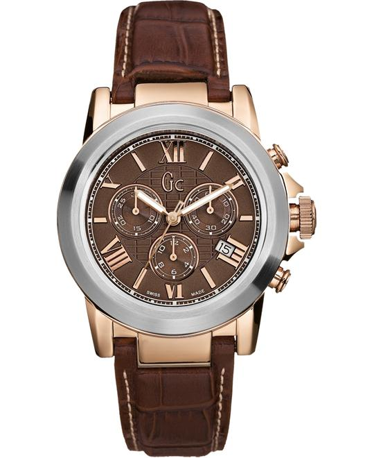 GUESS Chronograph Brown Watch 49mm
