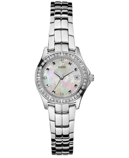 GUESS MOPEARL PETITE CRYSTALS WATCH26mm