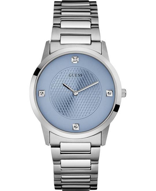 GUESS Diamond Accent Stainless Men's Watch 40mm