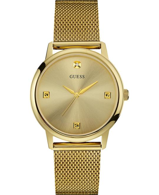 GUESS Diamond Mesh Men's Watch 40mm