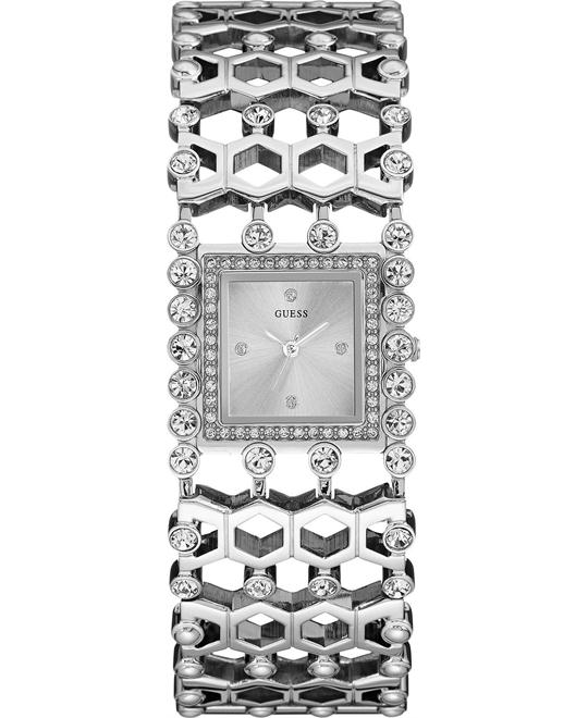 GUESS Feminine Jewelry-Inspired Watch 37mm