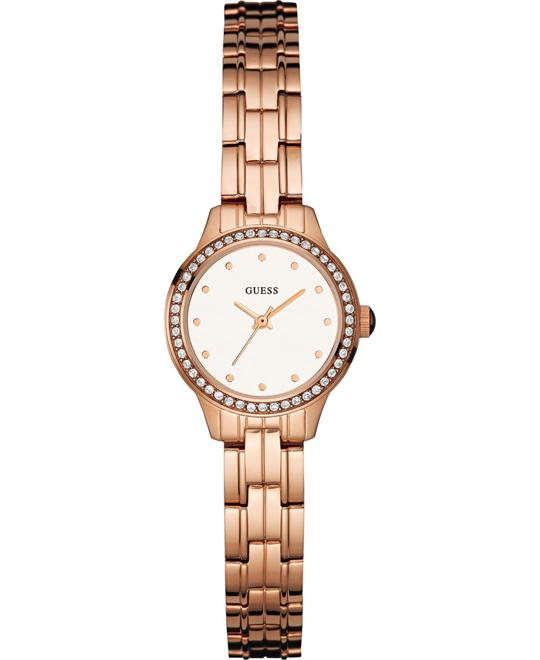 GUESS Feminine Rose Gold-Tone Watch 23mm
