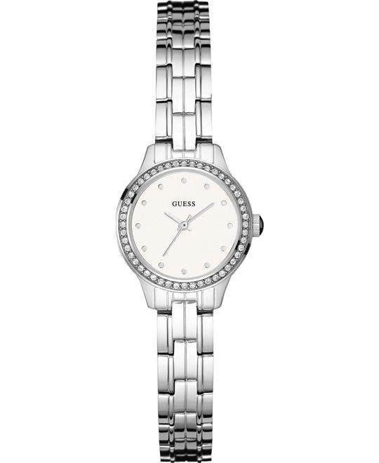 GUESS Feminine Silver-Tone Watch 23mm