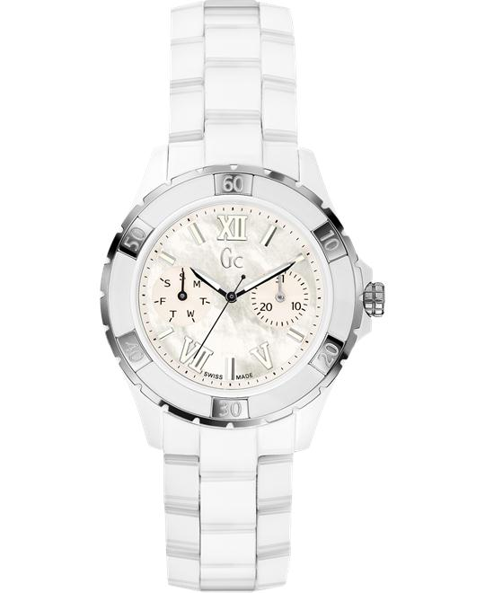 Guess Gc Sport Class XL-S Glam Ceramic Women's, 36mm