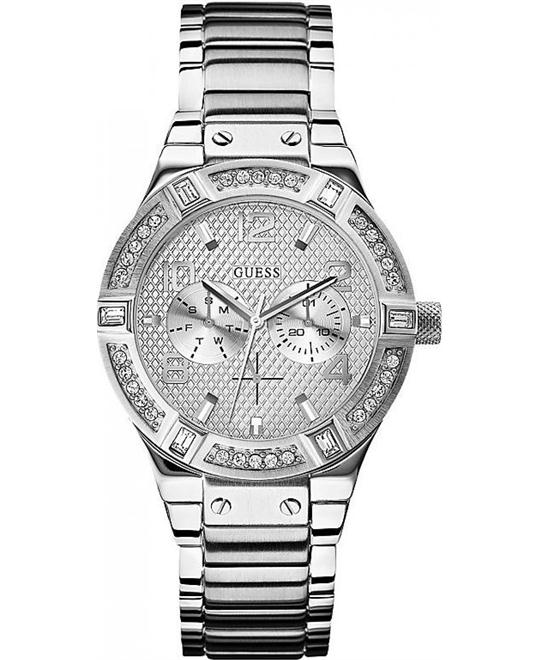 "GUESS Guess ""Gunmetal Rigor Women's Watch 39mm"