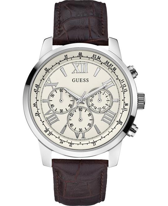GUESS iconic Men's Chronograph Classic Sport Watch 45mm