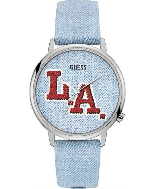 Guess L.A. Originals Denim Watch 42mm