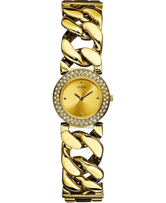 Guess JAZZ Gold Ladies Watch 32mm