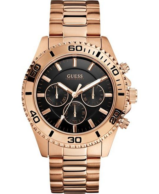 GUESS masculine Sporty Chronograph Watch 45mm