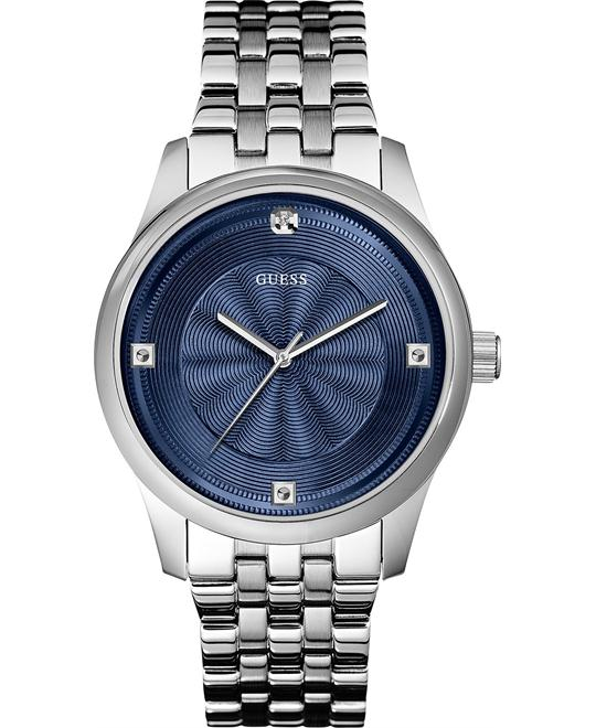 GUESS Dressy Genuine Diamond Men's Watch 42mm