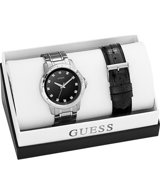 GUESS Interchangeable Wardrobe Diamond Watch Set 44mm