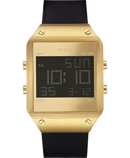 GUESS Digital Alarm Chronograph Watch Men's 55mm