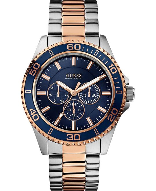 GUESS Mutli-Function Blue Men's Watch 45mm