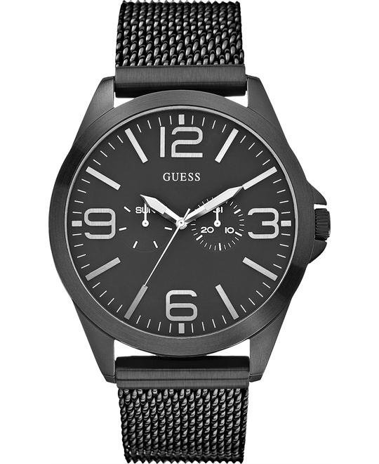 GUESS Modern Sleek Ionic-Plated Men's Watch 49mm