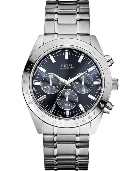 GUESS Men's Chronograph Stainless 43mm
