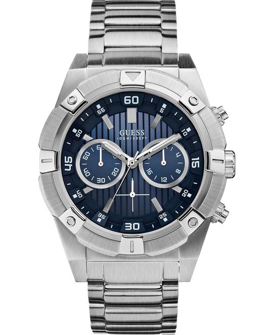 "Guess ""Gunmetal Rigor"" Men's Watch 44mm"