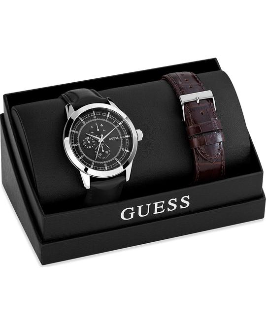 GUESS Masculine Diversion Watch Box Set 46mm