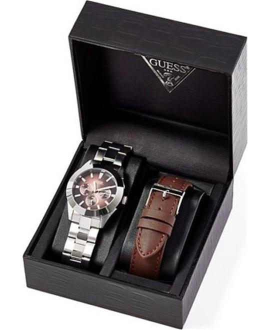Guess Coffret Montre Men's Watch Set 40mm
