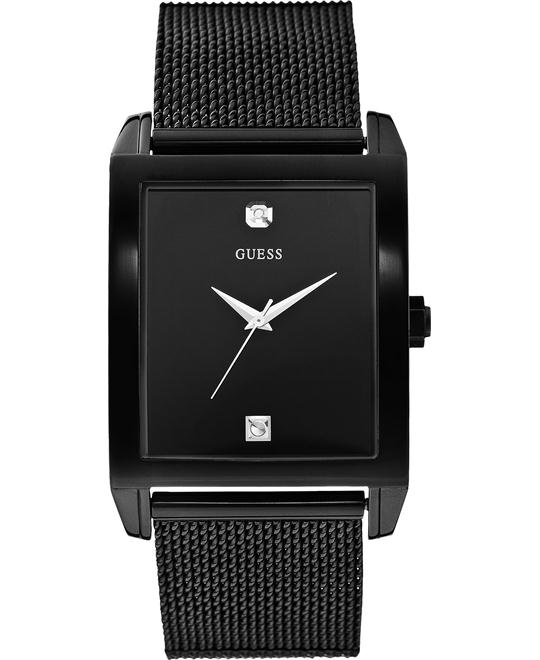 Guess Rectangular Diamond Watch 41x37mm