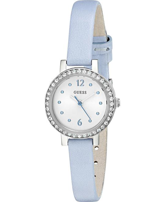 GUESS Metal and Leather Casual  Women's Watch 23mm