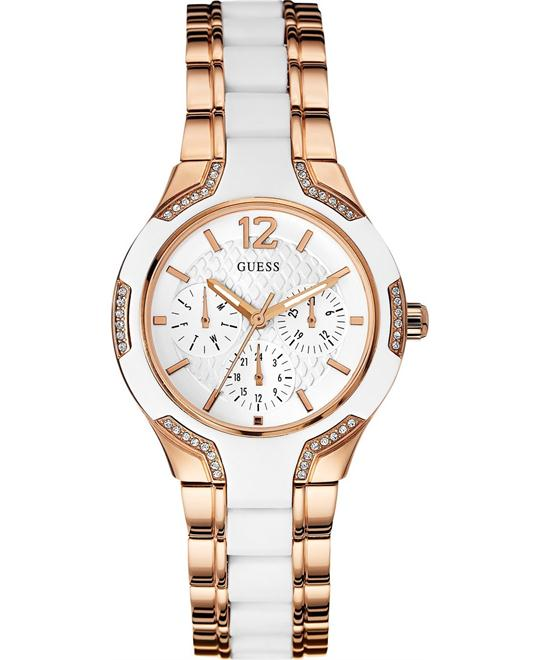 GUESS  Multi-Function Rose Gold Watch 36mm