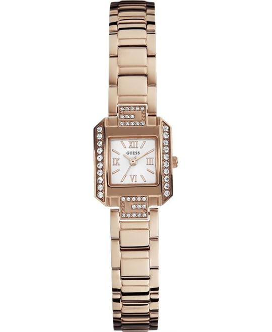 GUESS Rose Gold-Tone Ladies Watch 19mm