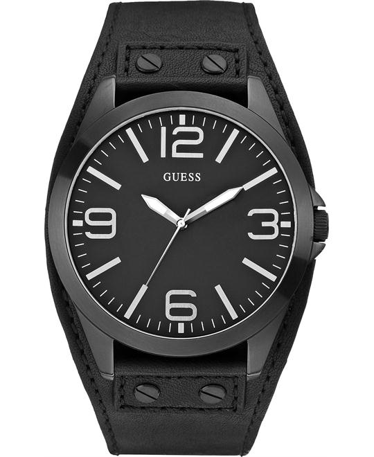 GUESS Leather Cuff  Men's Watch 49mm