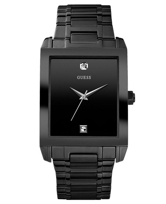 Guess Rectangular Diamond Watch, 41x37mm