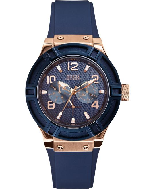 GUESS Analog Quartz Blue Watch 39mm