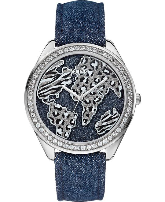 GUESS Feminine Animal Sport Unisex Watch 44mm
