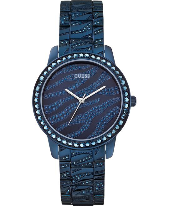 GUESS Zebra Patterned Women's Watch 38mm