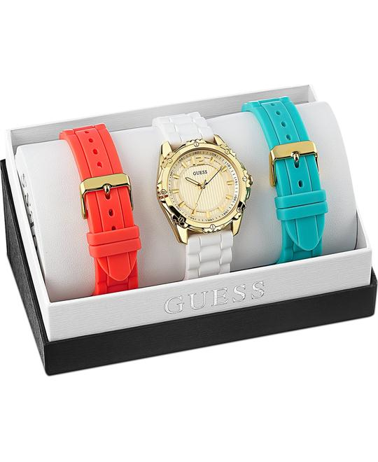 GUESS Interchangeable Women's Watch Set 42mm