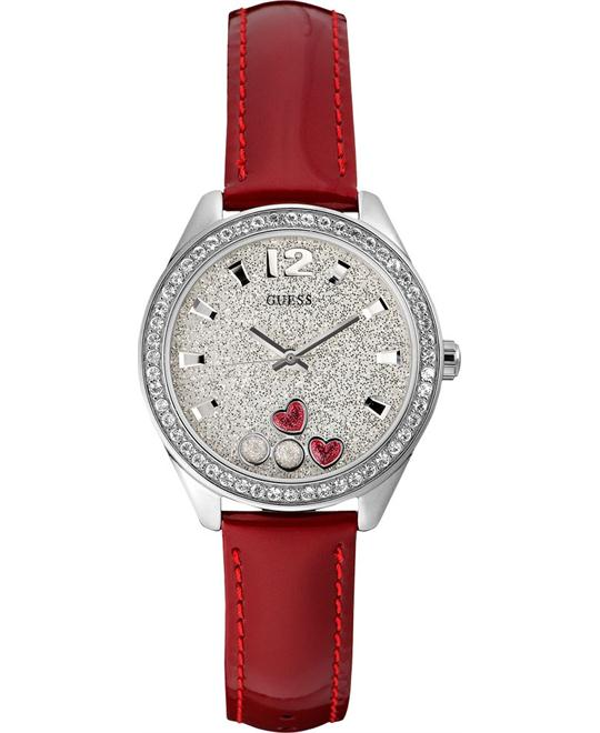 Guess Women's Lether Strap Watch 36mm