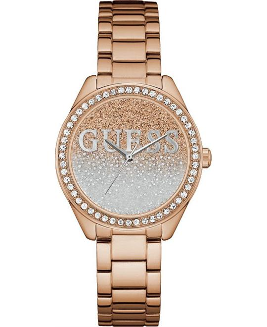 đồng hồ GUESS Women's Quartz Stainless Steel Watch 36.5mm