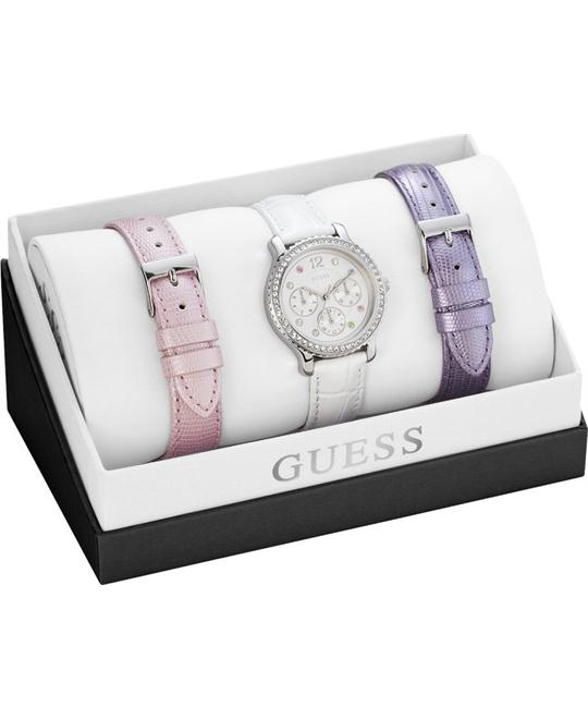 GUESS Interchangeable Women's Watch Set 34mm