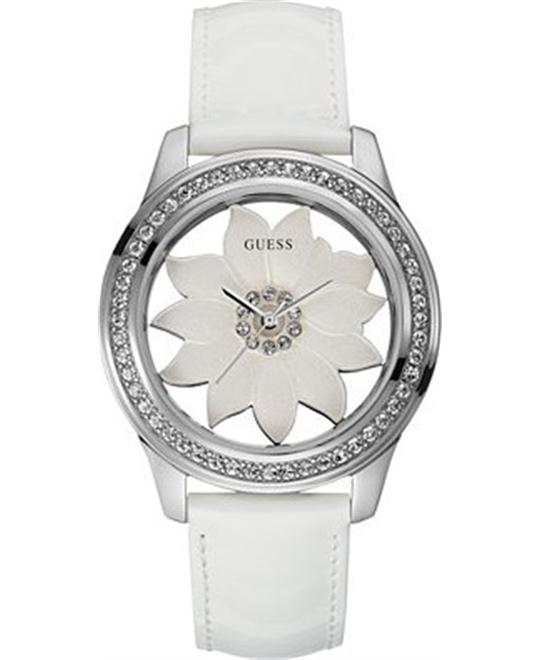 GUESS Floral Watch with Genuine Patent 42mm