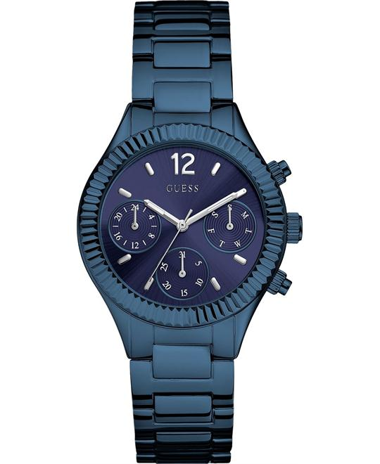 GUESS Femme Blue Acier Women's Watch 36mm