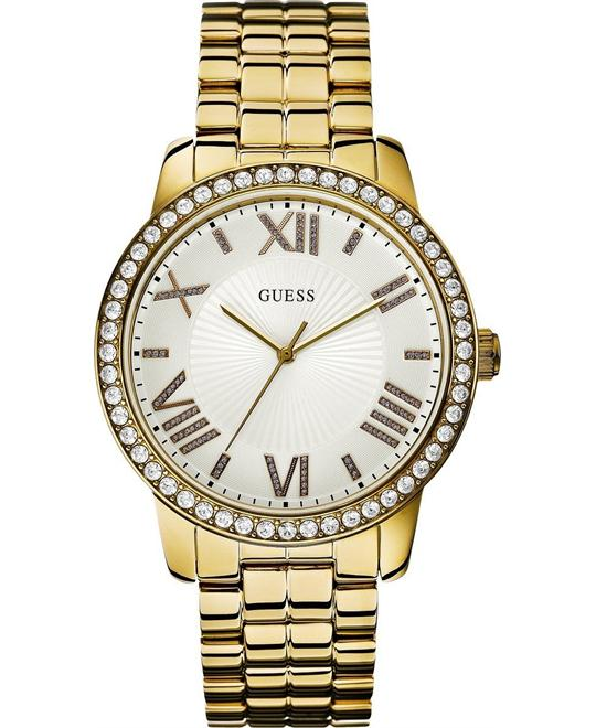 GUESS  Dazzling Oversized Women'sWatch 42mm