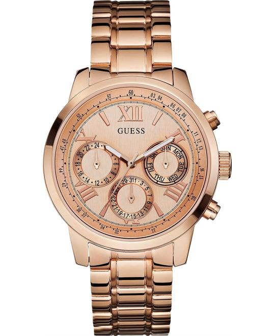 Guess Sunrise Multifunctional Women's Watch 42mm