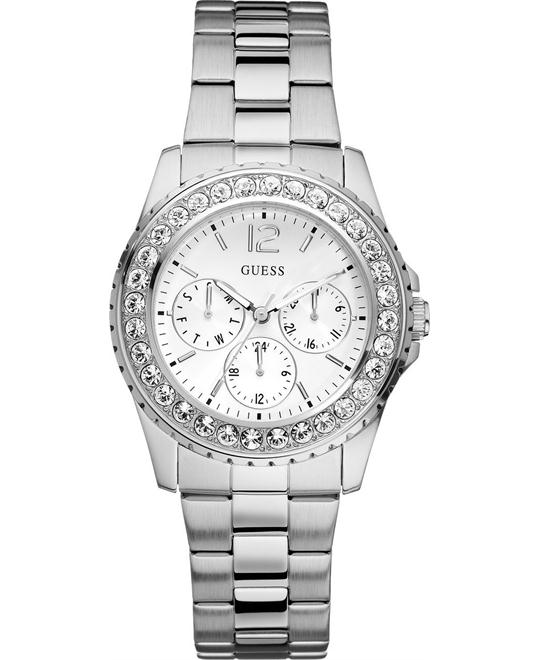 GUESS CHILLY CHILL LADY SWAROVSKI WATCH 36MM