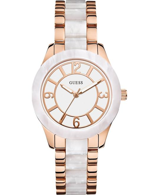 GUESS Marbellized Women's Watch 37mm