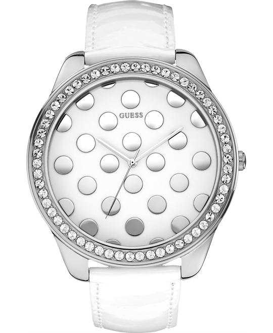 GUESS Whimsical polka Patent Watch 51mm