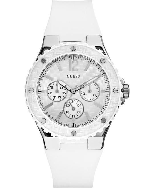 GUESS Carbon-Fiber Inspired Women's Watch 40mm